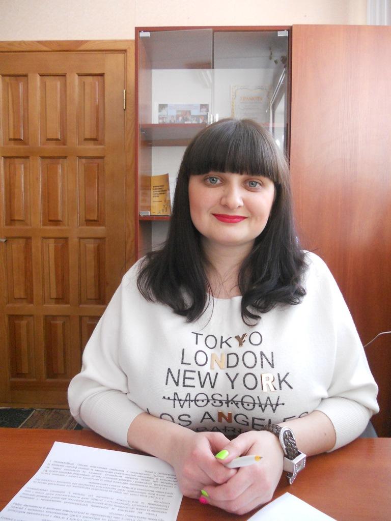 Соціальний педагог Анна Шамара
