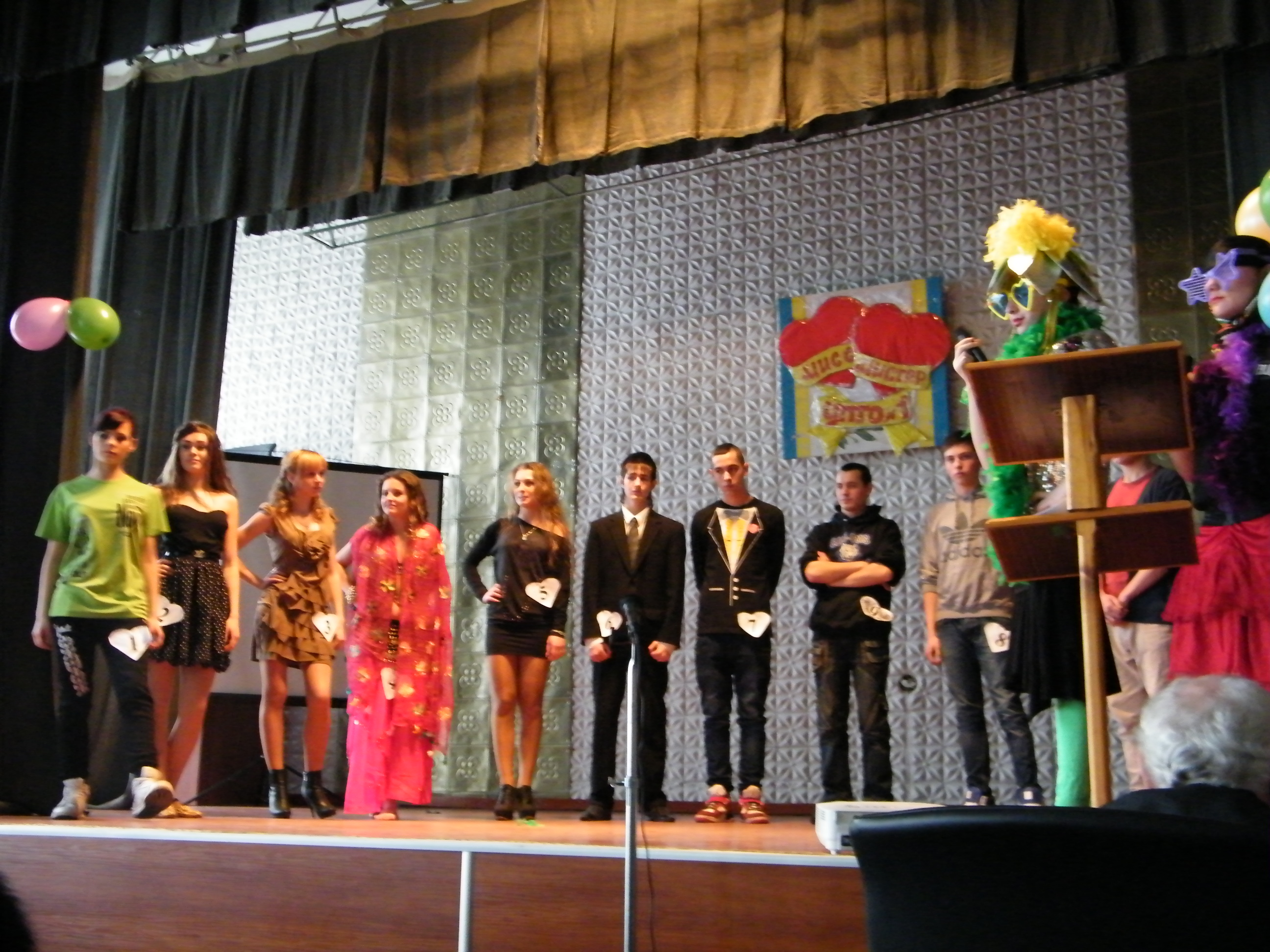 Конкурс «Міс та Містер ЦПТО№1»