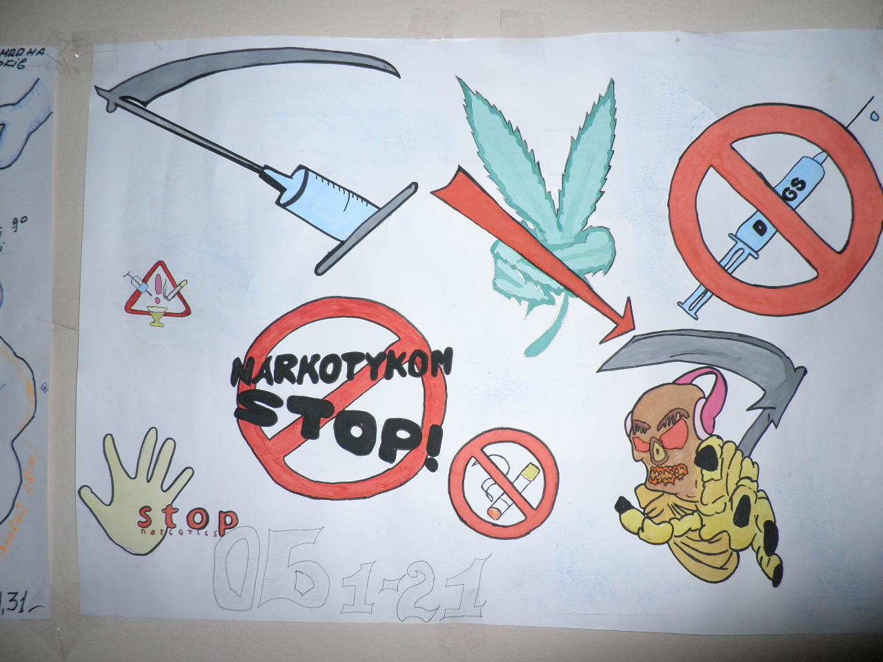 Конкурс стіннівок «Скажи наркотикам «НІ!»RA